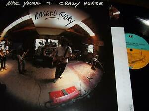 NEIL YOUNG : RAGGED GLORY LP 1990 REPRISE GERMANY