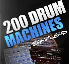 200 Drums Machines - Sample Pack .WAV (DOWNLOAD)