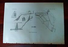 1897 USGS Plan Diagram Details of Sweetwater Dam