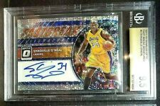 "Shaquille O'Neal ""Fastbreak Signatures"" Auto BGS 9.5 2017-18 Donruss Optic"