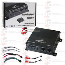 AUDIOPIPE APMCR-4060 MICRO 4-CHANNEL CAR AUDIO AMP AMPLIFIER 1000W