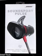 Bose SoundSport Pulse Wireless In-Ear Headphones W/ Heartrate Monitor Power Red