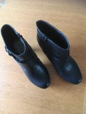 Madden Girl Ladies Ankle Boot In Black Style Prittyy Size Eu38