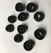 10 Rubber Earbud Cushion Tip Plug for Sennheiser MM-70S 70i 80i Travel Earphones