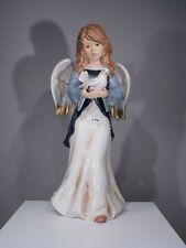 +# A007394 Goebel Archiv Erstmuster Engel Angel mit Taube Pigeon Dove