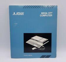 ATARI MEGA STE Computer Owner's manual