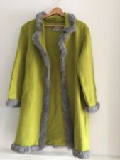 Ladies Green Italian Coat Size S
