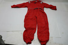 New G-Force 645 Karting Suit, Red, Child's Large
