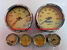 Smiths Replica Kit- Elec Temp + Oil + Fuel + Amp Gauge+Speedometer +Tacho 100 mm