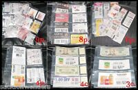 50 - EXTREME COUPON PAGES SLEEVES HOLDER BINDERS  - Make Your Own PAGES & QTY!!