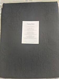 Calvin Klein Queen  Bedspread Coverlet 100% Pure Cotton