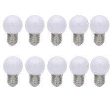 10x E27 Farbig Glühlampen Lampe Glühbirne Bunt Dekoration Leuchtmittel Weiß
