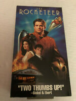 THE ROCKETEER, TIMOTHY DALTON, JENNIFER CONNELLY, VHS