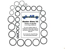 Macdev Clone VX Paintball Marker O-ring Oring Kit x 4 rebuilds / kits