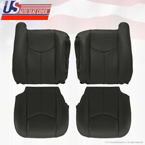 2003 To 2006 Chevy Silverado GMC Sierra 1500 2500 Upholstery seat cover DK Gray