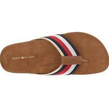 Tommy Hilfiger Women's Giulio Flip Flops  Sandals Shoes NAVY Size 5 M New In Bo
