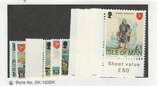 Isle of Man, Postage Stamp, #121-129 Mint Nh, 1978