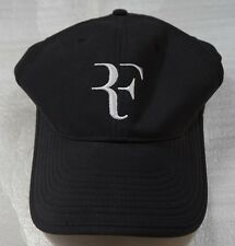 NEW Nike Dri-Fit RF Roger Federer Hat Cap BLACK 589513-010 *RARE FIND Vintage