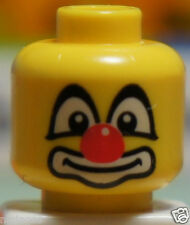 LEGO 88012 Yellow HEAD (Safety Stud) Body Part for Circus Clown Minifigure