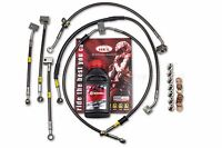 Yamaha R1M 2015-20 ABS Front / Rear Brake Lines Hel Performance + Brembo Fluid