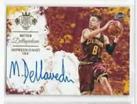 2015-16 Matthew Dellavedova #/199 Auto INK Panini Court Kings Cavaliers