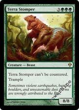 4 FOIL Terra Stomper - Green Zendikar Mtg Magic Rare 4x x4