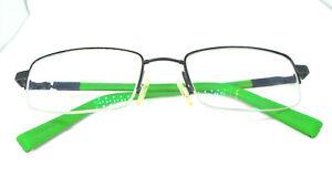 Flexon 465 by Marchon Royal Blue 51-19-135 Eyeglasses Rectangle Half Rim Frames