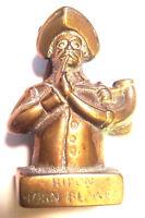 Brass Door Knocker Striker RIPON HORNBLOWER Heavy Brass  1930s/40s