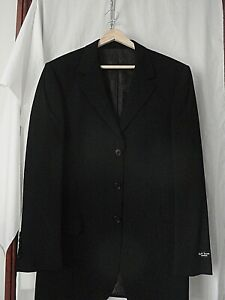 """NEW With tags Paul Smith LONDON Collection Dark Navy Blue Wool Suit Size 36"""""""