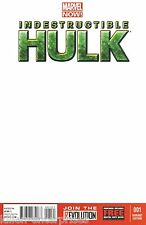 Indestructible Hulk #1 Blank Variant Now Comic Book - Marvel