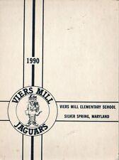 Yearbook Viers Mill Elementary School Silver Spring Maryland Jaguars 1990