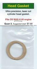 OS MAX-H 60 Cylinder Head Gasket 2 Pack NIP