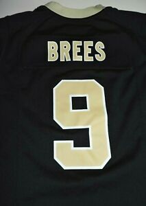 DREW BREES #9 New Orleans Saints youth small jersey Nike vintage