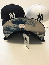 New Era New York Yankees UKIYOE Japan Edition Hat Cap Navy  Size 7 1/2