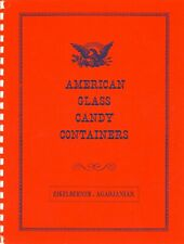 844 ea. American Glass Candy Containers - ID - Patterns Makers / Rare Book