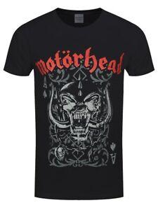Motorhead T-shirt Playing Card Men's Black