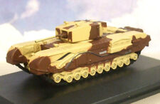 "OXFORD DCAST 1/76 CHURCHILL TANK MKIII MK3 KING FORCE ""MAJOR KING"" 1942 76CHT001"