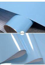 Glossy 4M DIY Decorative Film PVC Self Adhesive Wall Furniture Renovation Paper
