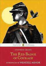 The Red Badge of Courage (Puffin Classics)-ExLibrary