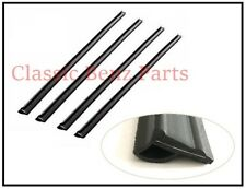 Mercedes W108 W109 Door Window Belts / Outer Window Seals Scraper Brushes