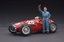 Exoto 1952 Ferrari 500 F2 / Nino Farina Diorama / Scale 1:18 / #GPC97199F3
