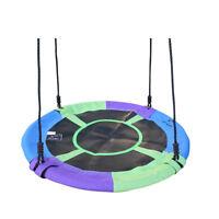 100cm Children Round Nest Tree Swing Large Seat Rope Kids Outdoor Equipment Toys