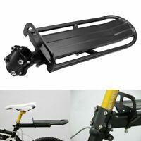 Bicycle MTB Mountain Bike Rear Rack Seat Post Frame Luggage Carrier Holder Shelf