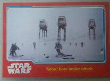 Topps 15 Star Wars: The Force Awakens Trading Card #62 Rebel Base under Attack..