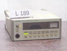 ANRITSU ML9001A OPTIC POWER METER # L189
