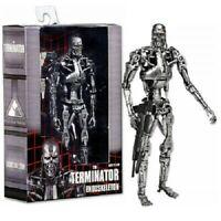 """The Terminator Figure NECA T-800 Endoskeleton 7"""" model toys"""