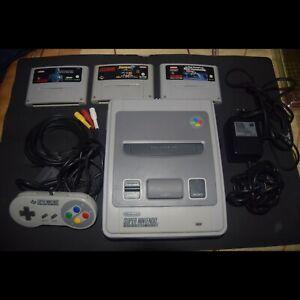 ☼ SNES - Consola Super Nintendo + 3 juegos   PAL ☼