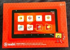 nabi SE 7 inch Tablet - Red for Ages 6+ FGC59 Brand  New Factory Sealed
