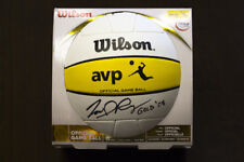 Todd Rogers Signed Autographed Olympics Beijing Gold 2008 Wilson Game Ball