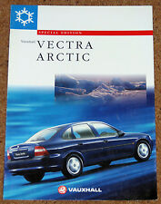1997 VAUXHALL VECTRA ARCTIC 1.6i & 1.8i Sales Brochure - Special Edition Model